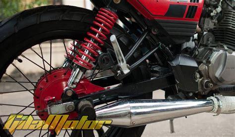 Modif Rx King Batam by Modifikasi Honda Megapro 2007 Jambi Ikuti Tren Retro
