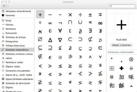 redimensionar imagenes latex c 243 mo introducir texto unicode y s 237 mbolos en os x faq mac