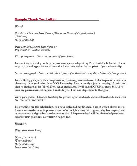 thank you letter award received 8 award thank you letter sles sle templates