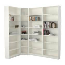 Corner Bookshelves Ikea Billy Bookcase White 215 135x237x28 Cm Ikea