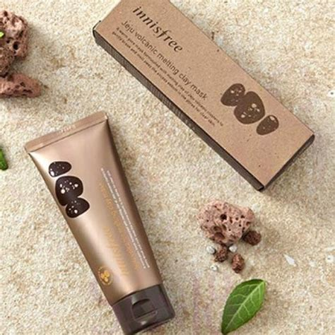 Innisfree Jeju Volcanic Melting Clay Mask 100 Ori Asli innisfree jeju volcanic melting clay mask 100ml exp date