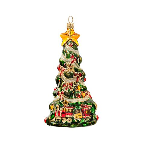 moveable christmas train ornaments tree with ornament gump s
