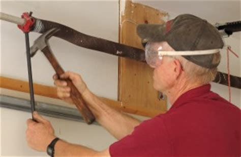 Garage Door Unwound How To Replace Garage Door Torsion Springs