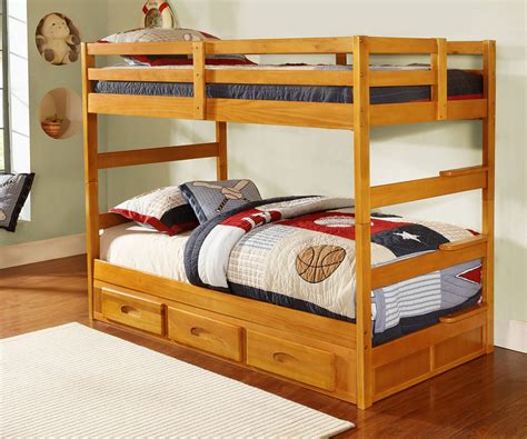 All Bunk Beds Honey Bunk Bed All American Furniture Buy 4 Less Open To