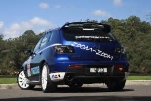 mazda 3 mps rally car revealeda and ready for targa