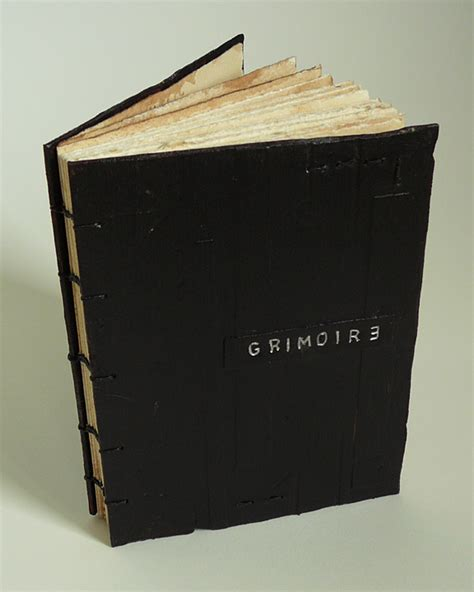 Handmade Grimoire - handmade books grimoire spell that