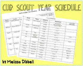 cub scout calendar template plan the best year for your cub scouts the boy