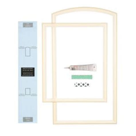ez door 28 in width interior door self adhering decorative frame kit ezd fr 28 the home depot