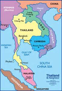 south asia countries map map of southeast asia a adrift