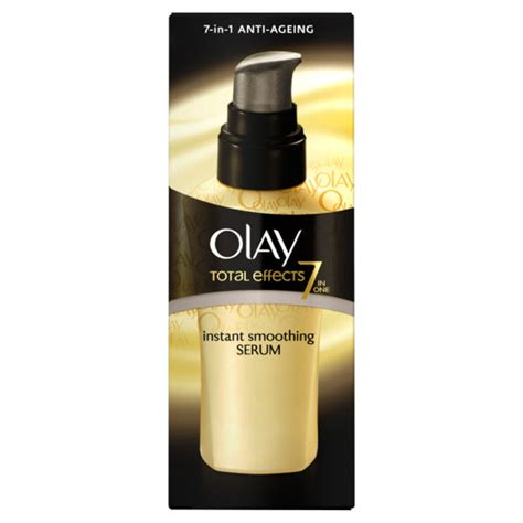 olay total effects instant smoothing serum 50ml buy mankind