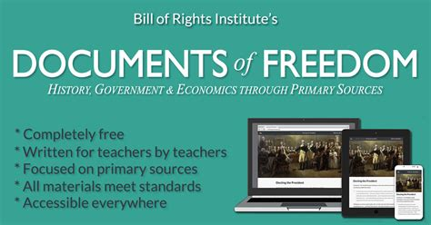 freedom documents section 1 bill of rights institute