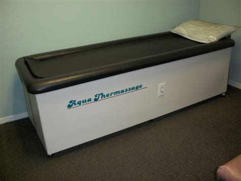 used hessco aqua thermassage chiropractic therapy for sale