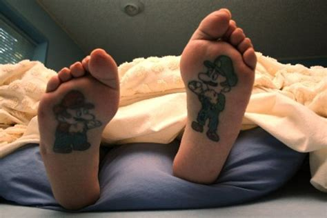 gaming tattoos fresh pics 40 geeky tattoos
