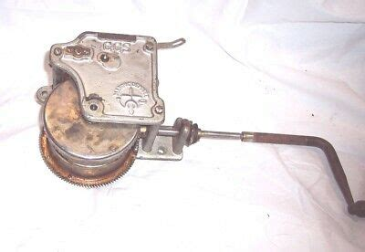 Edison Phonograph Motor And Board For Parts Or Restoration