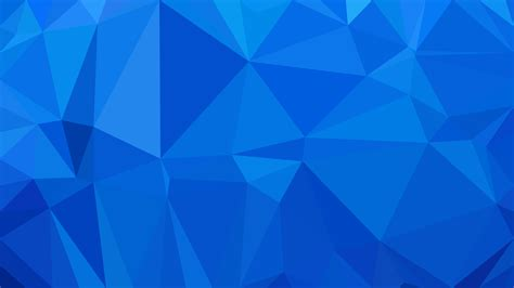 cobalt blue abstract  poly background design
