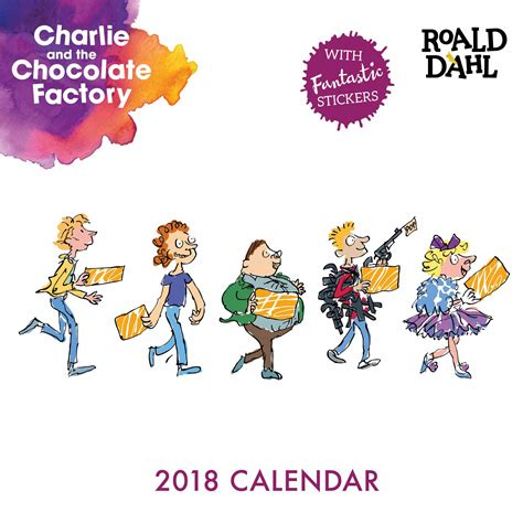 the story of the world cup 2018 books roald dahl and the chocolate factory calendar 2018
