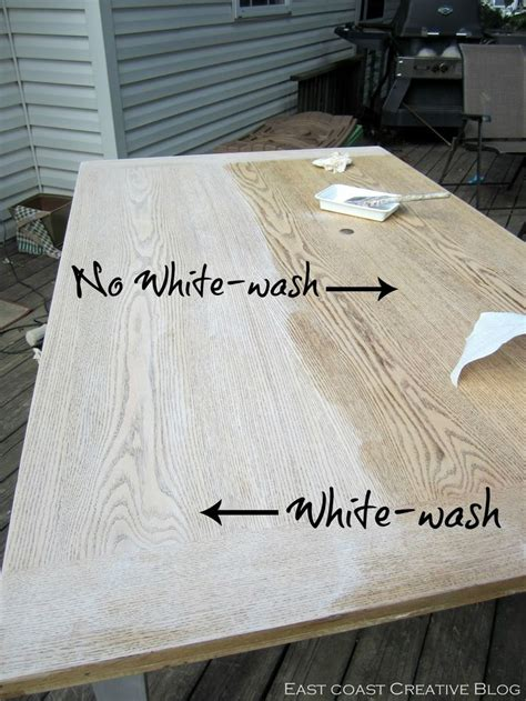 25 best ideas about white wash table on pinterest wood staining techniques weather wood diy