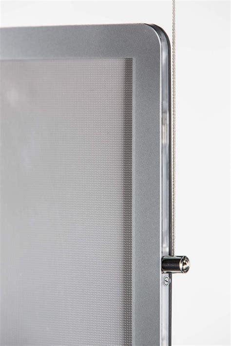 ozoled portes affiches led pour l agencement des vitrines
