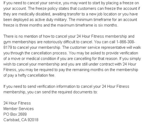 Cancellation Letter Anytime Fitness Membership Cancellation Letter Sle Images