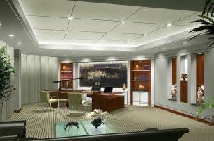 Office Interior Design Luxury Ceo Office Interior Design Rendering 3d House