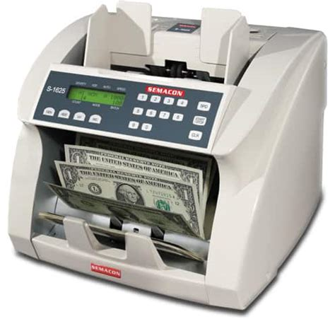 semacon s 1615 uv money counters, currency counters