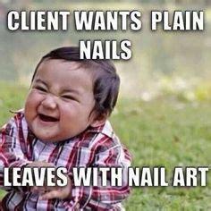 Nail Tech Meme - nail tech humor on pinterest nail tech funny and keep