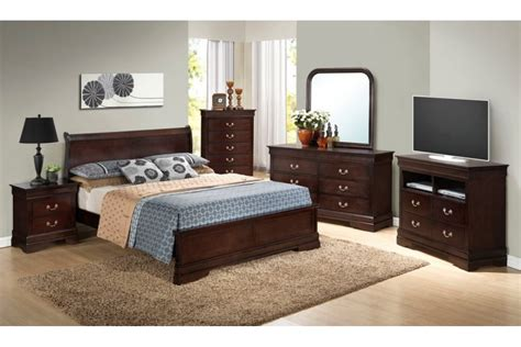 bedroom sets dawson cappuccino queen size platform  bedroom set newlotsfurniture