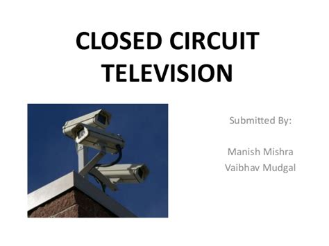 closed circuit television cctv