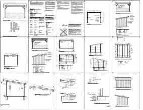 run  shed plans   build diy