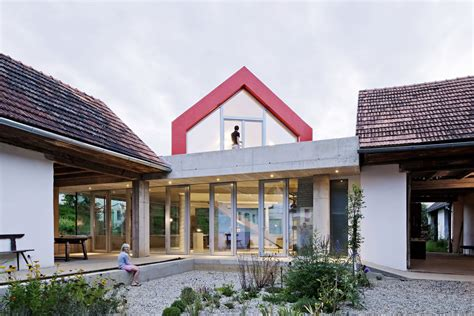 farm house renovation and expansion in burgenland austria