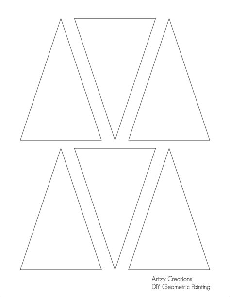 triangle template pics for gt triangle template
