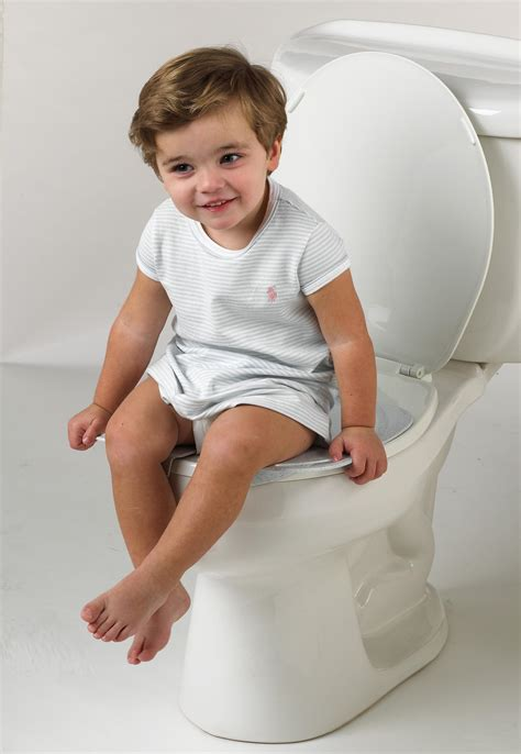 Baby And Portable Potty Seat Trainer Tempat Pipis Travel primo folding potty with handles white