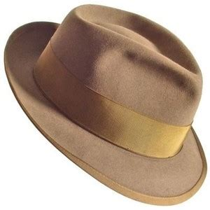 How To Make A Detective Hat Out Of Paper - vintage 50s detective fedora hat size 7 1 4