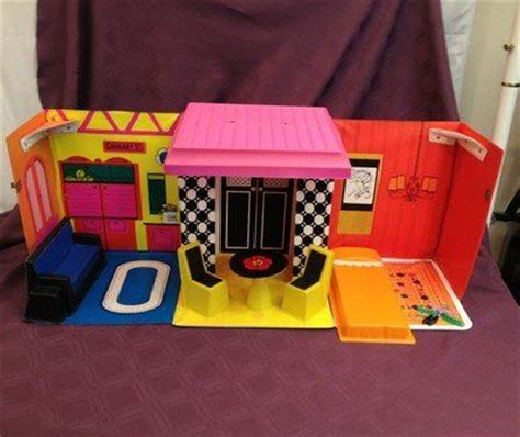 vintage barbie doll house vintage mattel barbie dolls 1968 vintage mattel barbie family doll house with