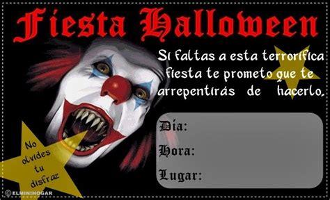 imagenes de halloween invitaciones sgblogosfera mar 237 a jos 233 arg 252 eso invitaciones para halloween