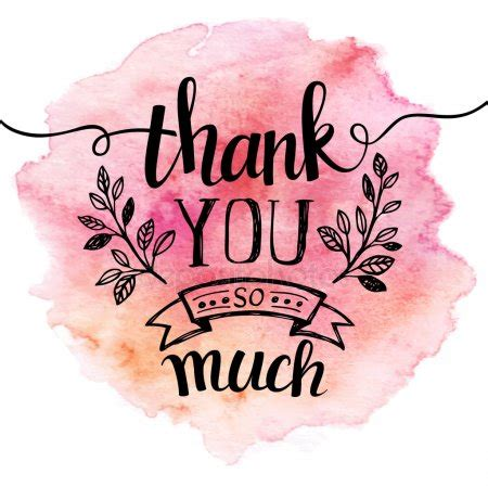 thank you stock vectors, royalty free thank you