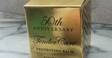 Oriflame Tender Care 50th Anniversary Protecting Balm review oriflame tender care protecting balm confessions of a makeup shopaholic