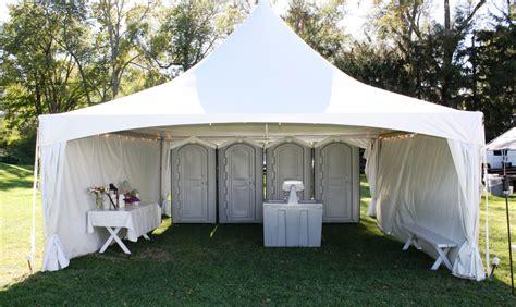 rental bathrooms for weddings wedding rental bathroom tent jpg jamestown awning and