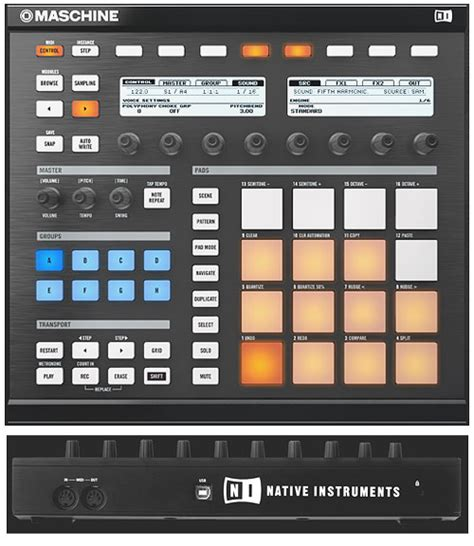 maschine pattern grid native instruments maschine native instruments maschine