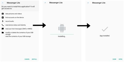 install messenger for mobile how to install faster lighter weight versions of