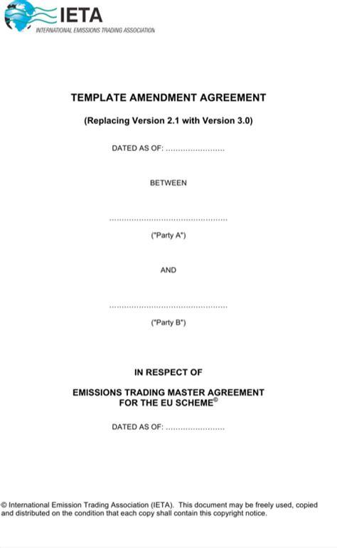 Invoice Amendment Letter contract amendment template for free formtemplate