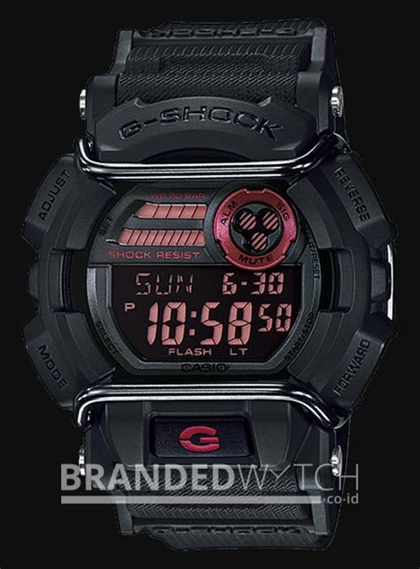 Jam Tangan Casio G Shock Mudmaster Premium Black casio g shock gd 400 1dr black brandedwatch co id