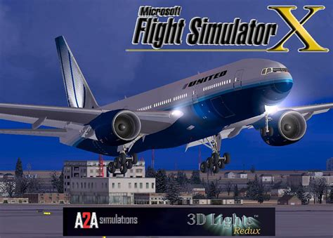 united flight united airlines boeing 777 222 for fsx