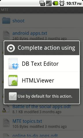 android text editor 4 ways to make use of dropbox for android