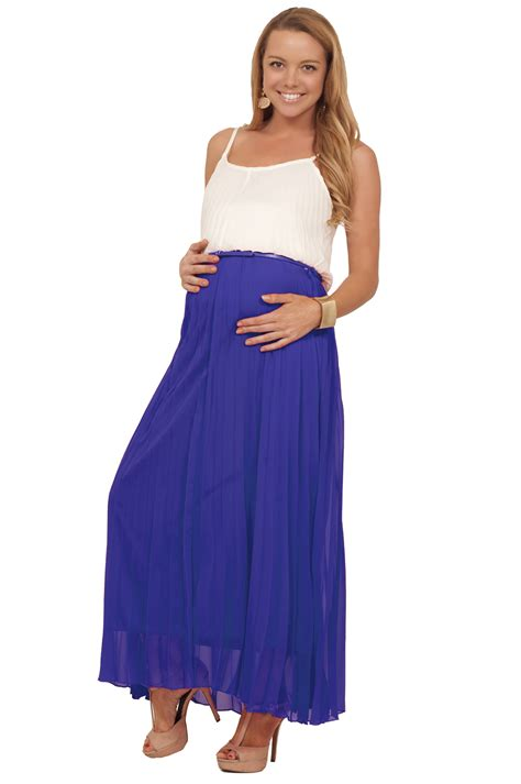 comfortable dresses for summer maternity pregnacy maxi full length pleated belted summer