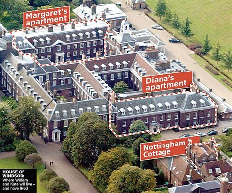 kensington palace apartments kate middleton and prince william to move in to kensington palace daily mail