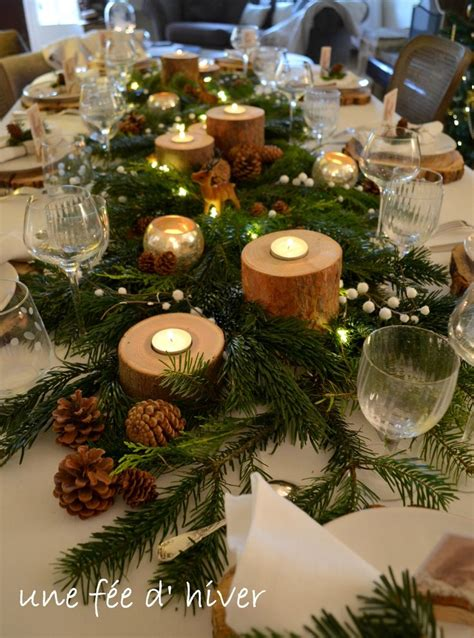 decoration de table noel