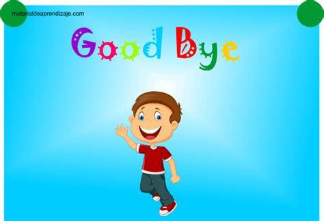 imagenes en ingles de good bye good bye 3 years material de aprendizaje