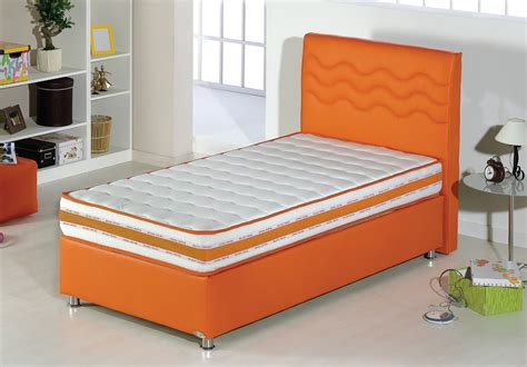 twin xl bed size twinjoy platform bed w headboard twin xl size orange by sunset