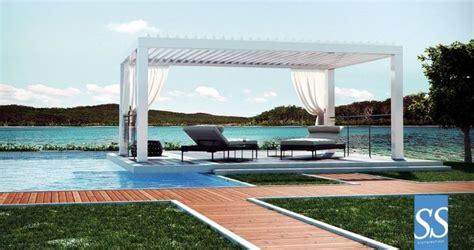 Pergola Aluminium Pour Terrasse 943 by Pergola Bioclimatique Lames Aluminium Orientables